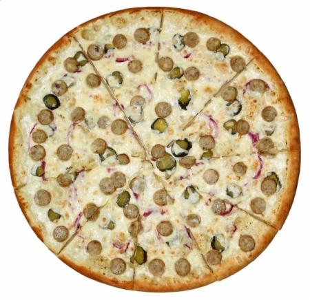 Пицца с Куриными Колбасками Гриль