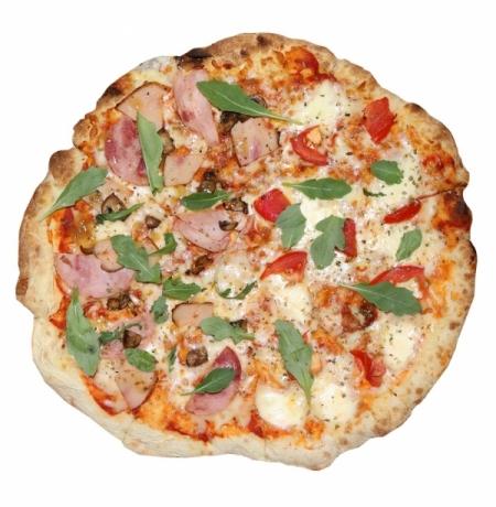 Пицца Капрезе и Пастрами (2 вкуса) Премиум