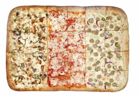 Пицца Maxi Три Вкуса Чикен 40/60 См