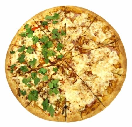 Пицца Большая Экзотика (2 Вкуса)