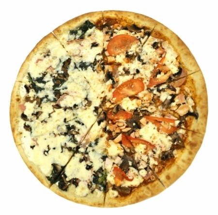 Пицца Большая Колоритная (2 Вкуса)