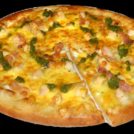Пицца Пекорино С Курицей И Беконом