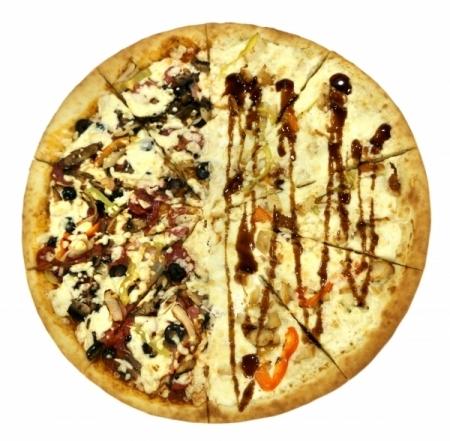 Пицца Большая Сытная (2 Вкуса)