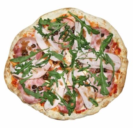 Пицца с Пастрами и Ветчиной Премиум