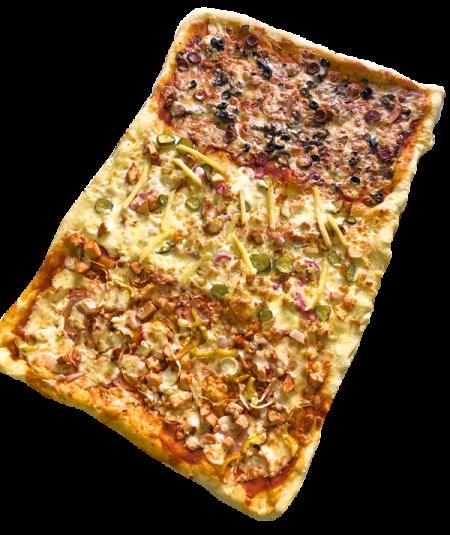 Пицца Maxi Три Вкуса Фермерская 40/60 См