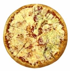 Пицца Большая Колбасная С Сырком (2вкуса)